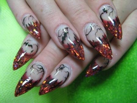 Вы просматриваете изображения у материала: Кошкина Роза, мастер по наращиванию ногтей