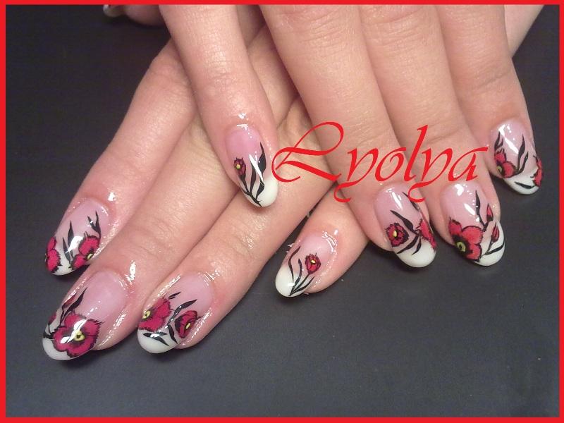 Вы просматриваете изображения у материала: Болсуновская Ольга, мастер по наращиванию ногтей